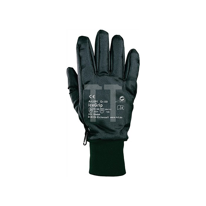 Handschuhe Ice-Grip 691 Gr.9 EN511/388 Kat.II L.300mm Nylon Thinsulatefutter PVC