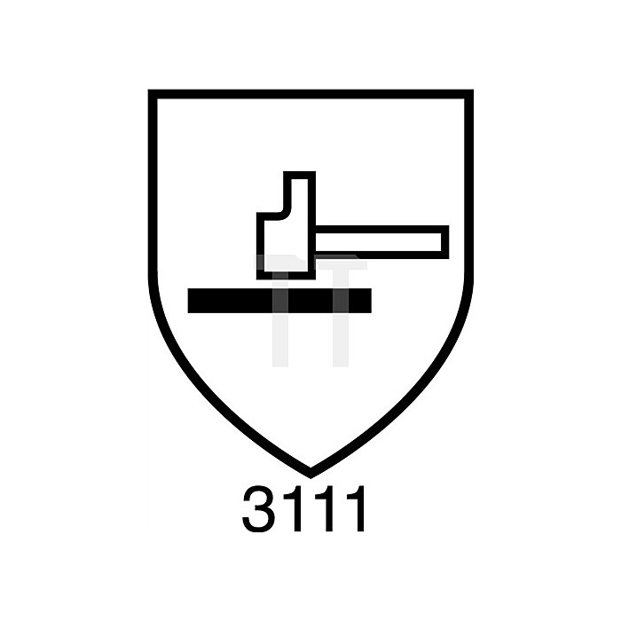 Handschuhe TevuChem 764 Gr.10 flüssigkeitsdicht KCL Baumwolltrikot