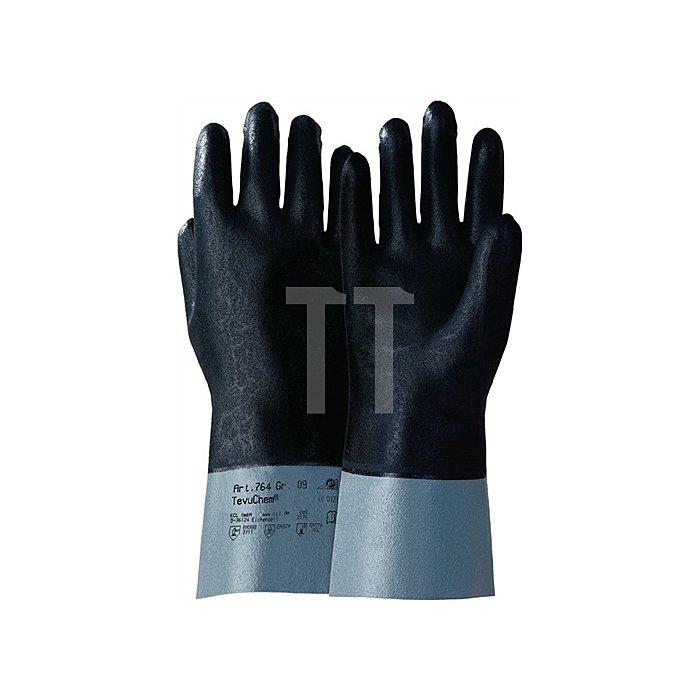 Handschuhe TevuChem 764 Gr.9 flüssigkeitsdicht KCL Baumwolltrikot