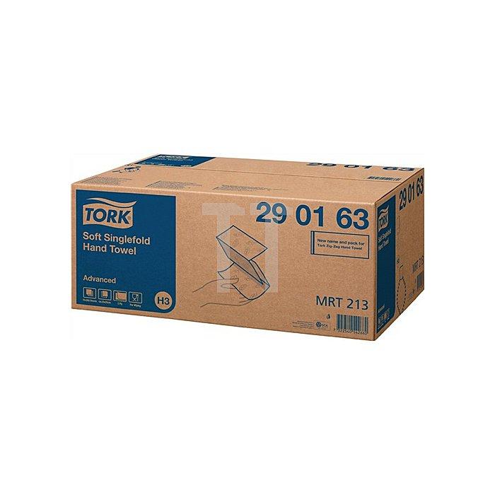 Handtuch weiss 2lagig Tissue L.230mm B.250mm Zickzack-Falzung 3750 Tücher/VE