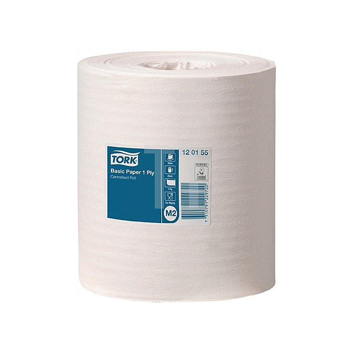 Handtuchrolle 1lagig Tissue L.300xB.200mm TORK Standard Papierwischtuch