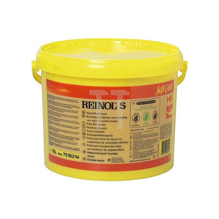 Handwaschpaste 10l Eimer Reinol S 1St./VE f.Spender 9000473118 f.Öl/Fett/Ruß