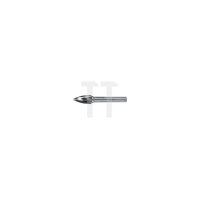 Hartmetall Frässtift Alu Form G Spitzbogen (SPG)