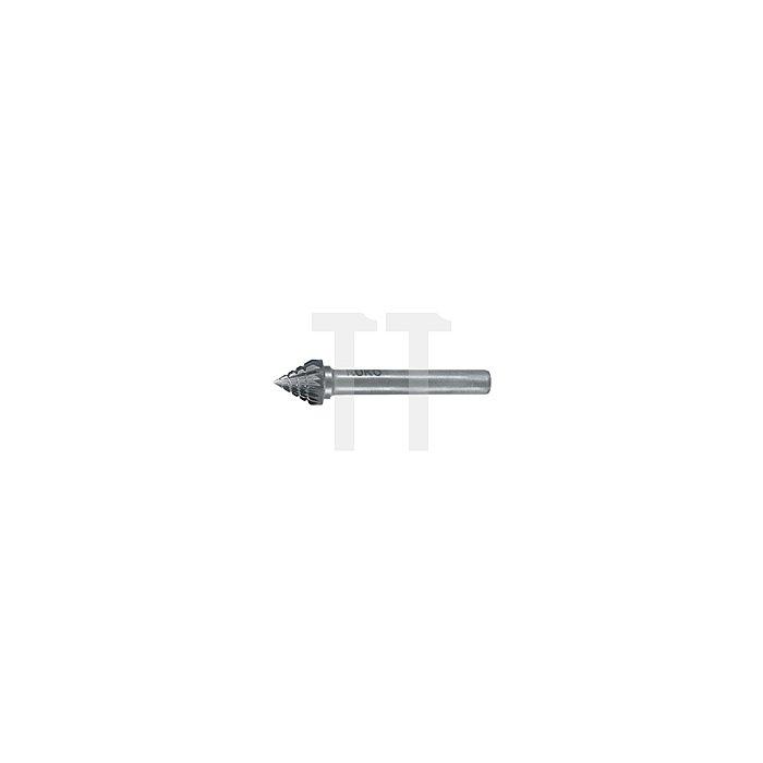 Hartmetall Frässtift Form J Kegel 60° (KSJ)