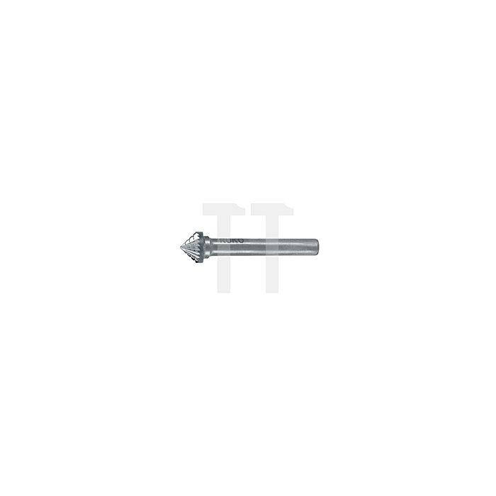 Hartmetall Frässtift Form J Kegel 90° (KSK)