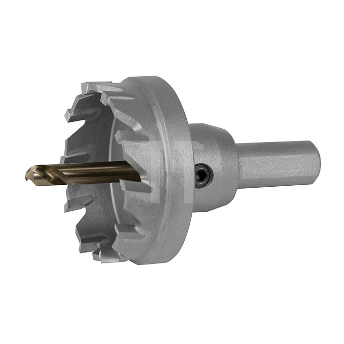 Hartmetall Lochsäge Flachschnitt Ø 22,5 mm