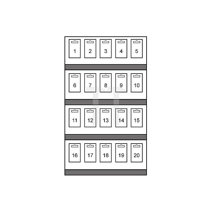Hartmetall Lochsägen-Modul Flachschnitt in Kartonverpackung