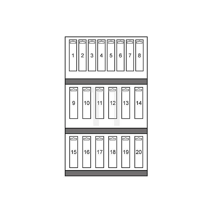 Hartmetall Mehrbereichslochsägen-Modul in Quadro Pack