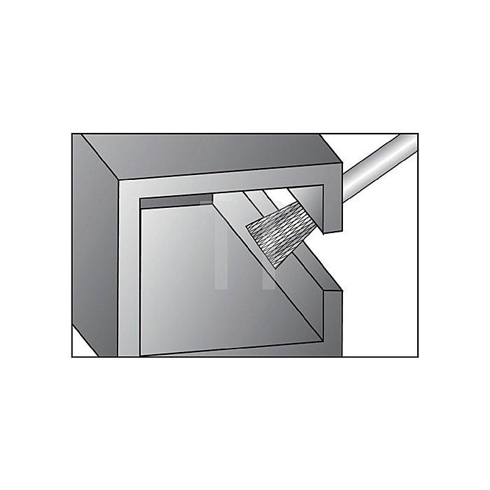 Hartmetallfrässtift Form N D.6mm HM WKN
