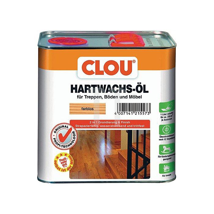 Hartwachs-Öl 2,5L. Farblos
