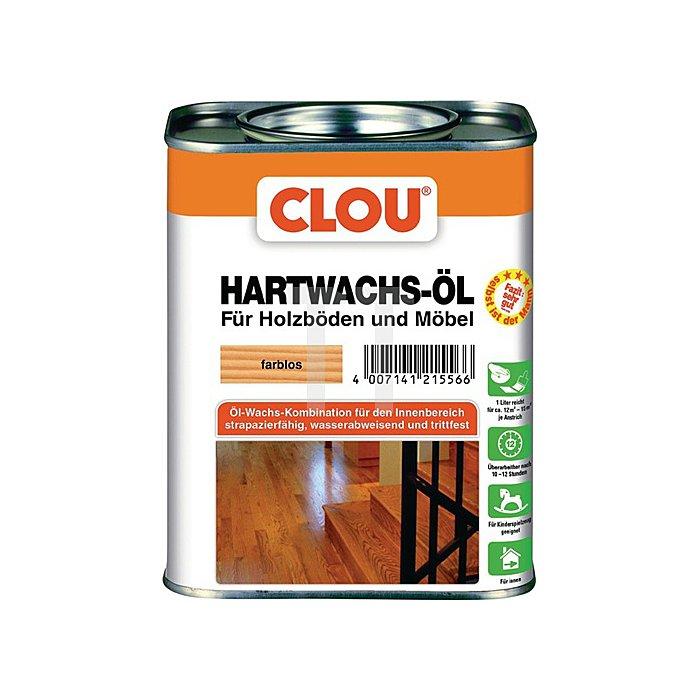 Hartwachs-Öl 750ml farblos