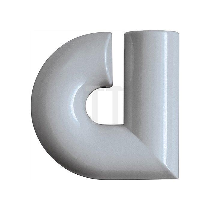 Hausnummer Kleinbuchstabe a Polyamid D.33mm reinweiss