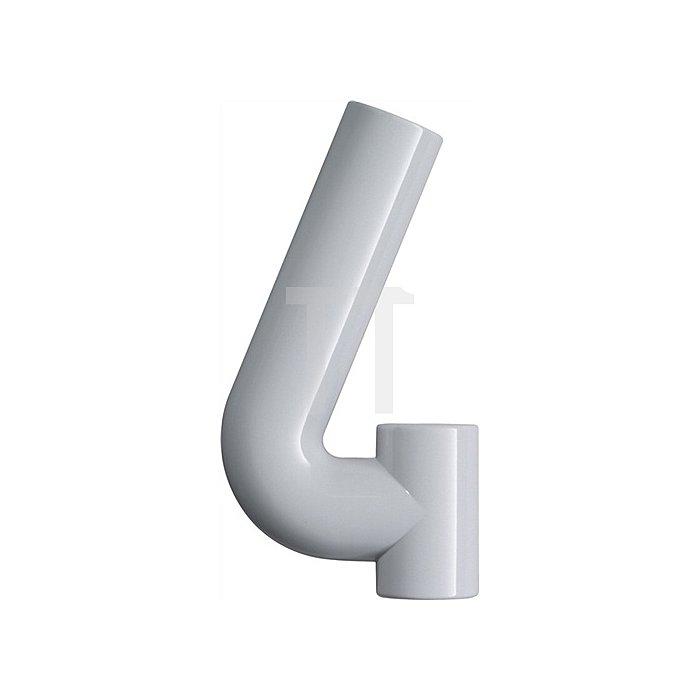 Hausnummer Ziffer 4 Polyamid D.33mm H.165mm anthrazitgrau