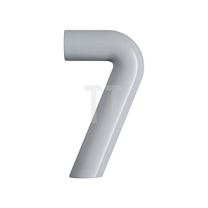 Hausnummer Ziffer 7 Polyamid D.33mm H.165mm rubinrot