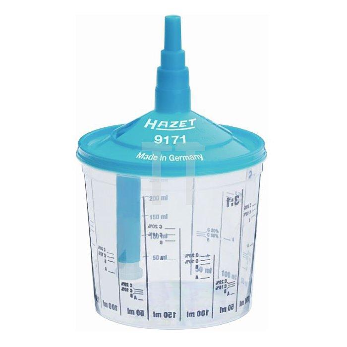 Hazet 100 Mixbecher-set Sieb:125u 9171-200/100