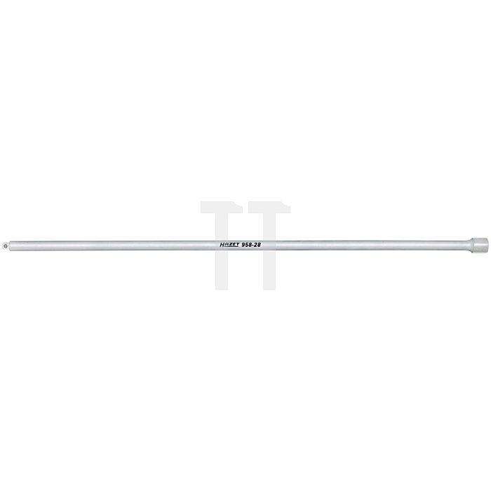 HAZET Adapter-Verlängerung - Vierkant hohl 12,5 mm (1/2 Zoll) - Vierkant massiv 10 mm (3/8 Zoll)