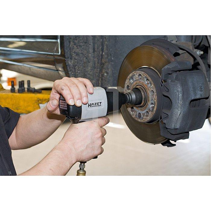 HAZET Antriebs-, Gelenk-, Achswellen-Satz - Vierkant hohl 12,5 mm (1/2 Zoll) - Außen-Doppel-Sechskant-Tractionsprofil - Anzahl Werkzeuge: 4
