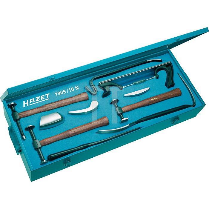 HAZET Ausbeulwerkzeug-Satz - Anzahl Werkzeuge: 10