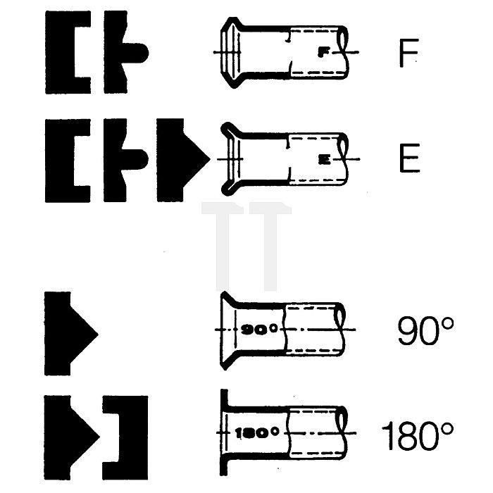 HAZET Doppel-Bördelgerät-Satz - Anzahl Werkzeuge: 12