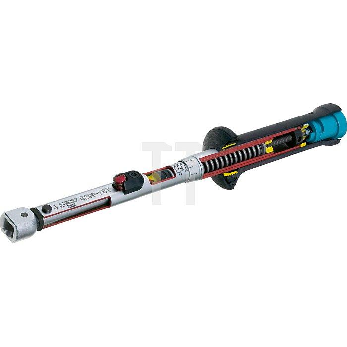 HAZET Drehmoment-Schlüssel - Nm min-max: 20–120 Nm - Toleranz: 2% - Einsteck-Vierkant 14 x 18 mm
