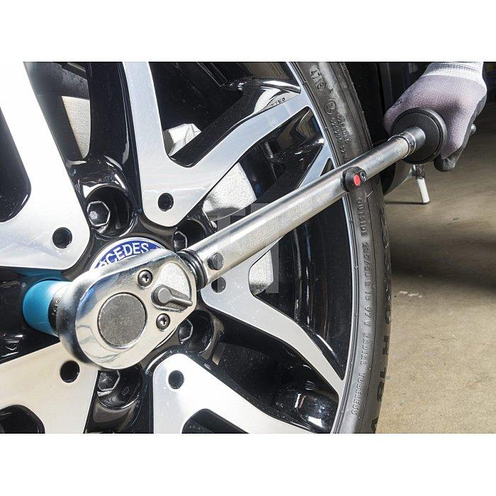 HAZET Drehmoment-Schlüssel - Nm min-max: 20–120 Nm - Toleranz: 2% - Vierkant massiv 10 mm (3/8 Zoll)