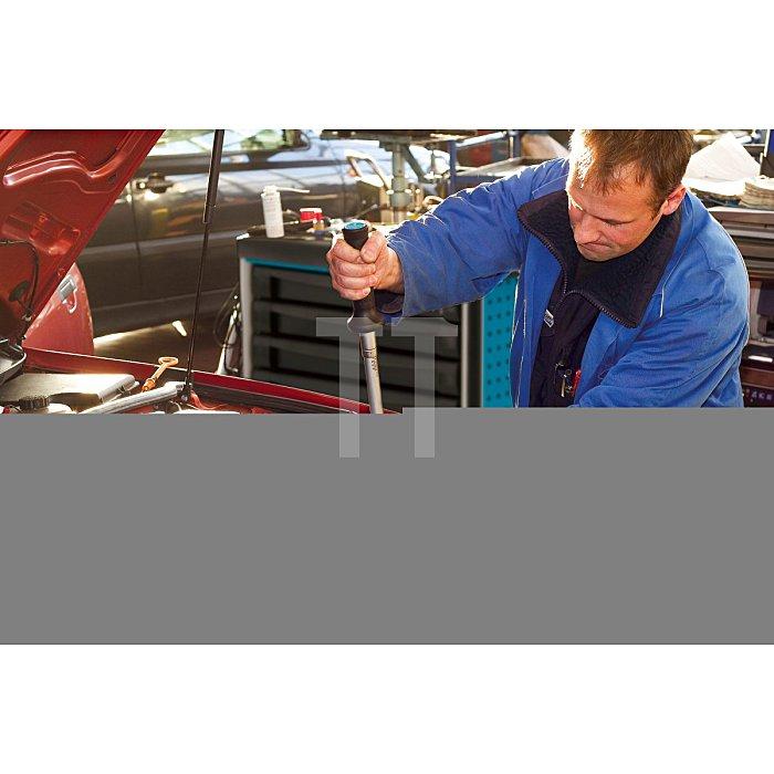 HAZET Drehmoment-Schlüssel - Nm min-max: 40–200 Nm - Toleranz: 2% - Einsteck-Vierkant 14 x 18 mm