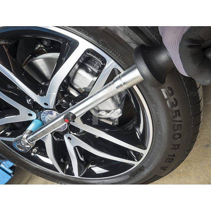 HAZET Drehmoment-Schlüssel - Nm min-max: 40–200 Nm - Toleranz: 2% - Vierkant massiv 12,5 mm (1/2 Zoll)