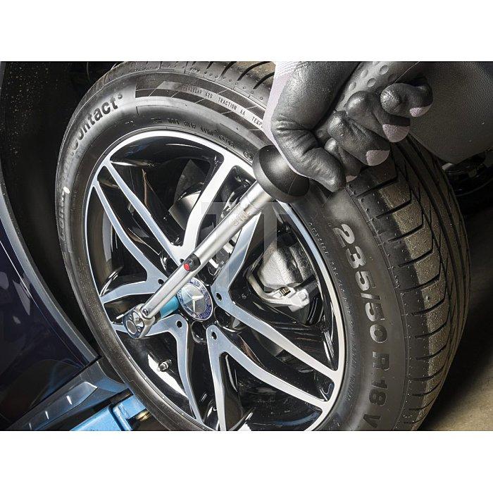 HAZET Drehmoment-Schlüssel - Nm min-max: 5–60 Nm - Toleranz: 2% - Vierkant massiv 10 mm (3/8 Zoll)