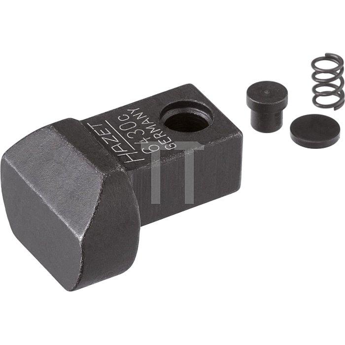 HAZET Einsteck-Anschweißteil - Einsteck-Vierkant 9 x 12 mm
