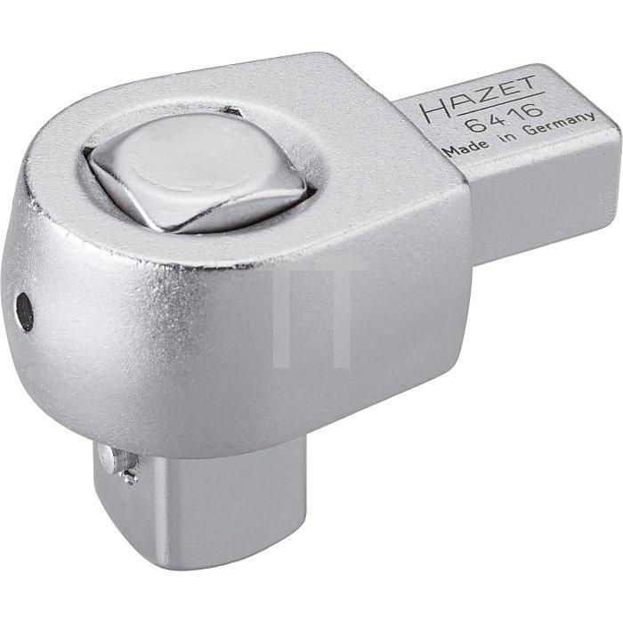 HAZET Einsteck-Vierkant-Antriebe - Einsteck-Vierkant 14 x 18 mm - Vierkant massiv 20 mm (3/4 Zoll)
