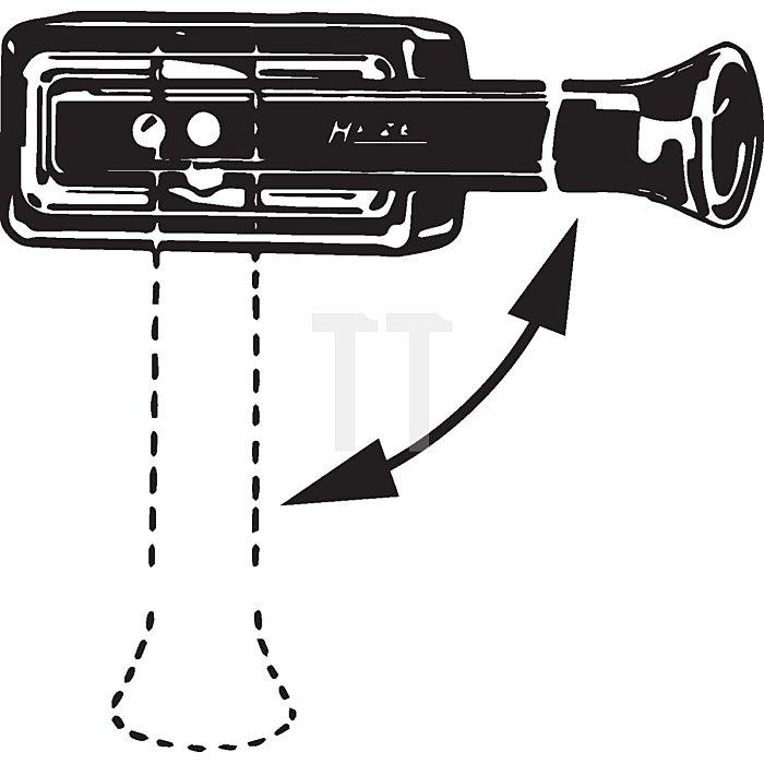HAZET Klebschlag-Hammer