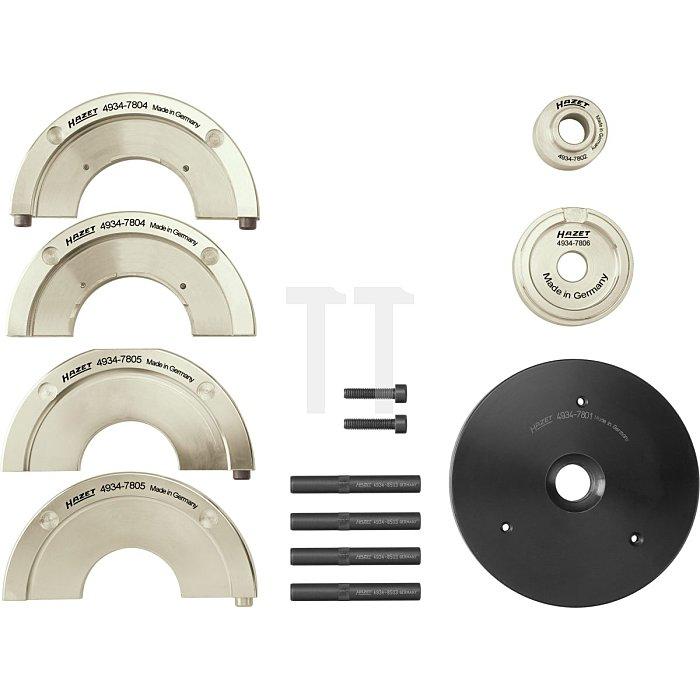 HAZET Kompakt-Radnaben-Lagereinheit-Werkzeug-Satz - Anzahl Werkzeuge: 11