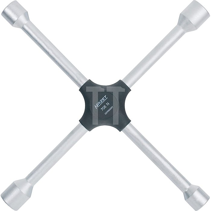 HAZET Kreuzschlüssel - Außen-Sechskant Profil