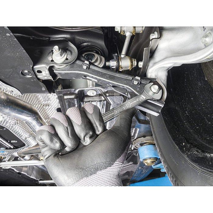 HAZET Ring-Maulschlüssel - Außen-Doppel-Sechskant Profil - 80 mm
