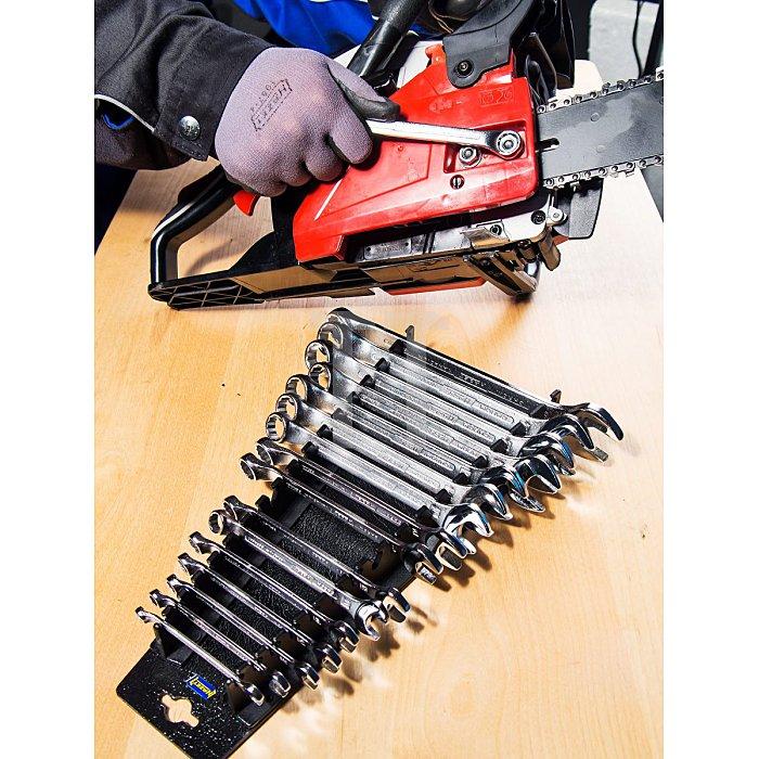 HAZET Ring-Maulschlüssel-Satz - Außen-Doppel-Sechskant Profil - Anzahl Werkzeuge: 17