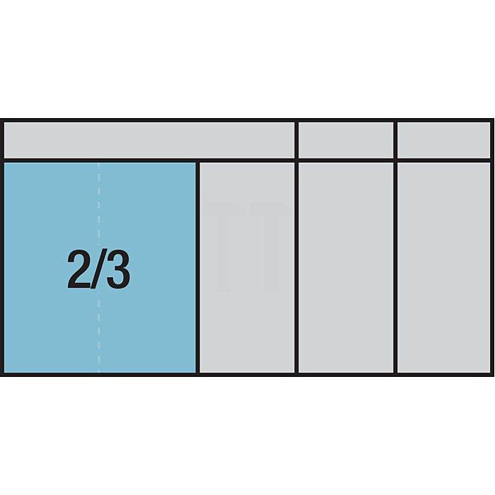HAZET Ring-Maulschlüssel-Satz - Außen-Doppel-Sechskant Profil - Anzahl Werkzeuge: 18