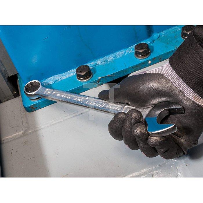 HAZET Ring-Maulschlüssel-Satz - Außen-Doppel-Sechskant-Tractionsprofil - Anzahl Werkzeuge: 21