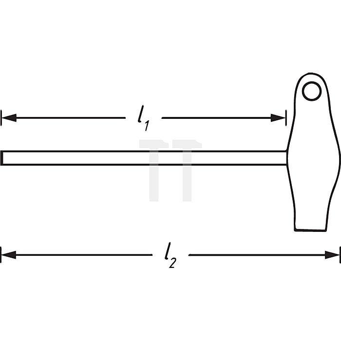 HAZET Schraubendreher - Innen TORX® Profil - T8 mm
