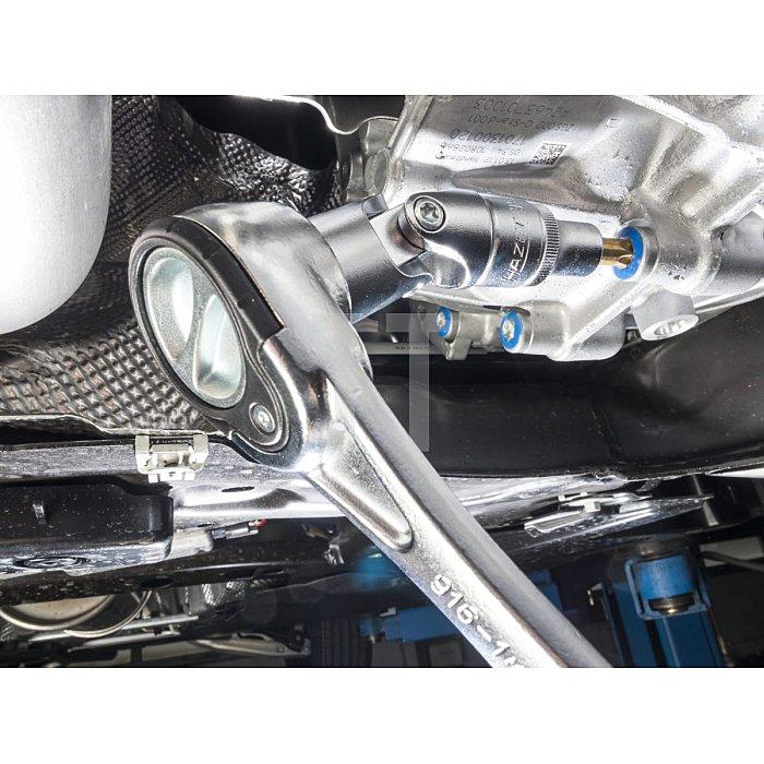 HAZET Schraubendreher-Steckschlüsseleinsatz-Satz TORX® - Vierkant hohl 12,5 mm (1/2 Zoll) - Innen TORX® Profil - Anzahl Werkzeuge: 9