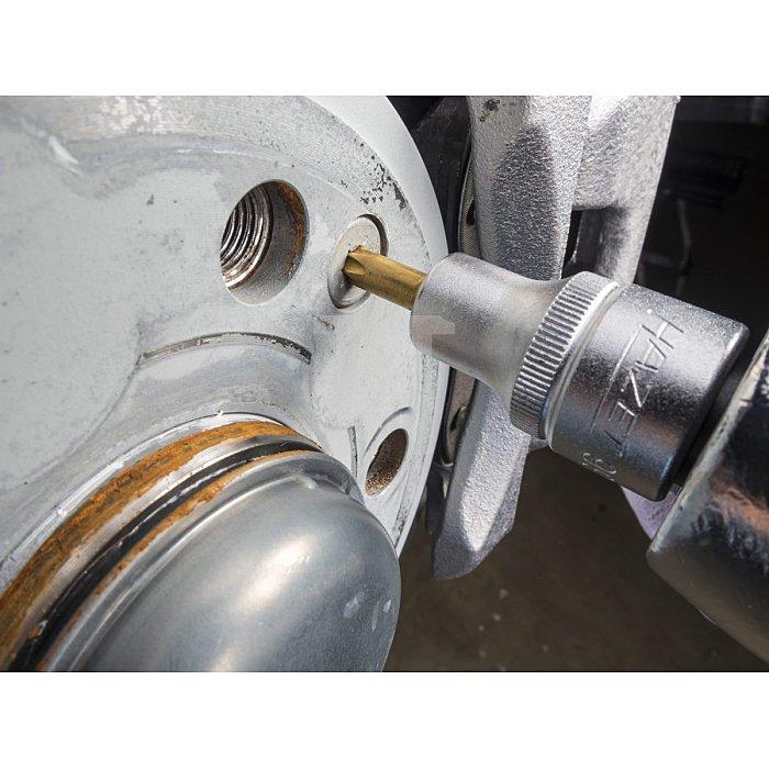 HAZET Schraubendreher-Steckschlüsseleinsatz TORX® - Vierkant hohl 12,5 mm (1/2 Zoll) - Innen TORX® Profil - T30 mm