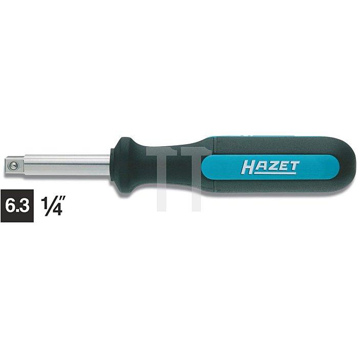 HAZET Steckgriff HINOX® (Edelstahl)® - Vierkant massiv 6,3 mm (1/4 Zoll)
