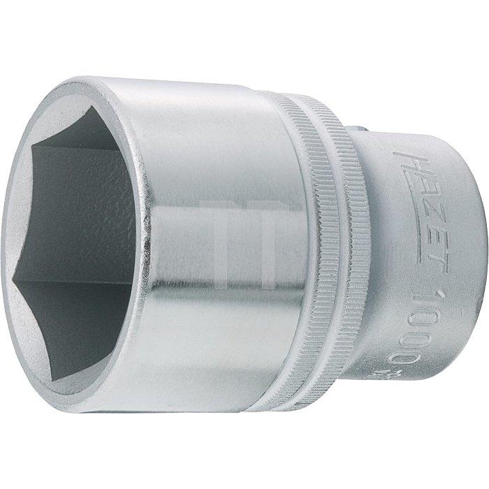 HAZET Steckschlüssel-Einsatz (6kt.) - Vierkant hohl 20 mm (3/4 Zoll) - Außen-Sechskant Profil - 22 mm