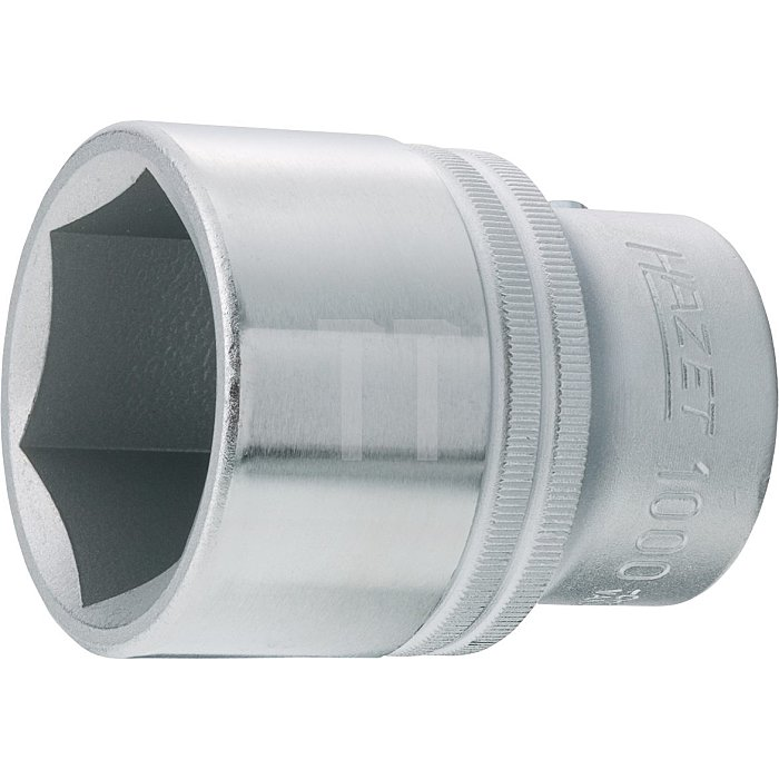 HAZET Steckschlüssel-Einsatz (6kt.) - Vierkant hohl 20 mm (3/4 Zoll) - Außen-Sechskant Profil - 46 mm