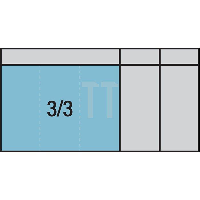 HAZET Steckschlüssel-Satz - Vierkant hohl 6,3 mm (1/4 Zoll), Vierkant hohl 12,5 mm (1/2 Zoll), Vierkant massiv 20 mm (3/4 Zoll) - Anzahl Werkzeuge: 104