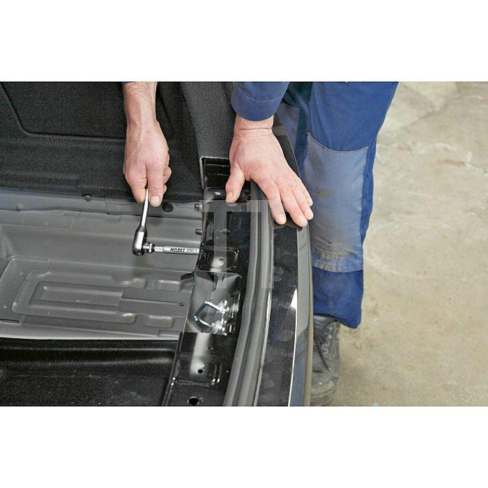 HAZET Stoßfänger-Rohr-Steckschlüssel - Vierkant hohl 6,3 mm (1/4 Zoll) - Außen-Sechskant Profil - 10 mm