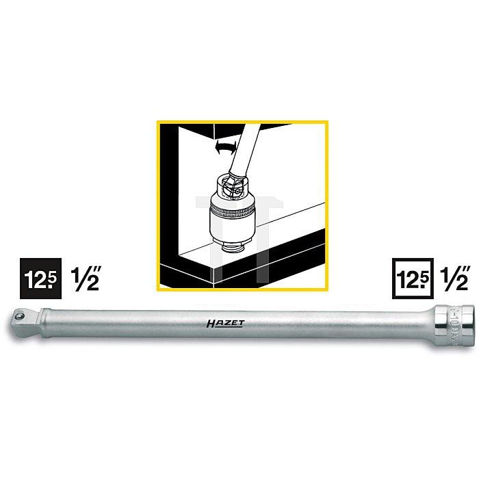 HAZET Verlängerung, schwenkbar - Vierkant hohl 12,5 mm (1/2 Zoll) - Vierkant massiv 12,5 mm (1/2 Zoll)
