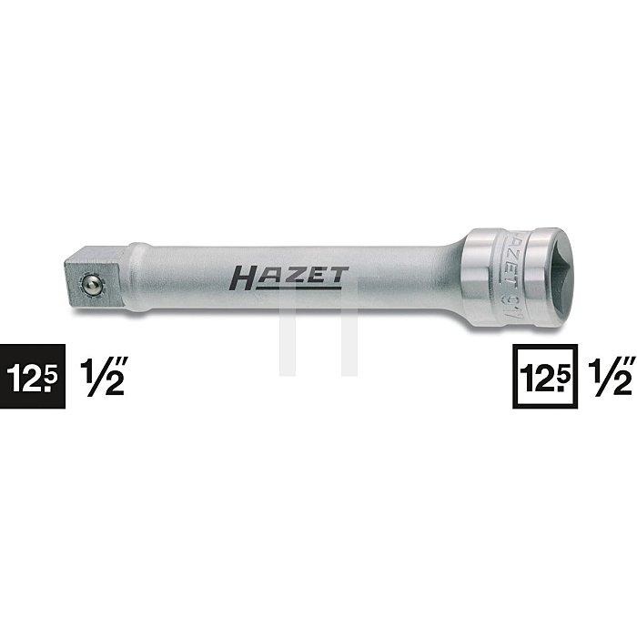 HAZET Verlängerung - Vierkant hohl 12,5 mm (1/2 Zoll) - Vierkant massiv 12,5 mm (1/2 Zoll)