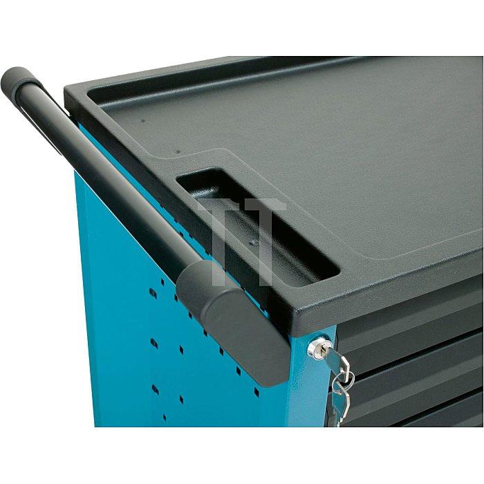 HAZET Werkstattwagen Assistent - Schubladen flach: 4x 80x527x348 mm - Schubladen hoch: 2x 165x527x348 mm