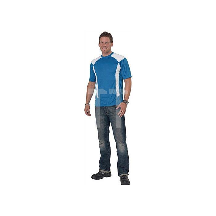 Herren Cool Dry T-Shirt Gr.XXL eisblau