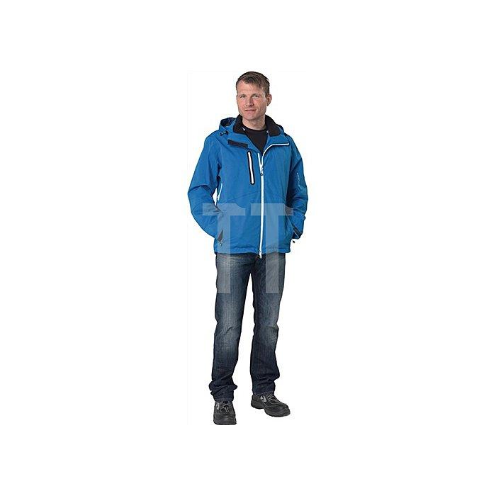 Herren Outdoor Jacke Gr.XXXL eisblau